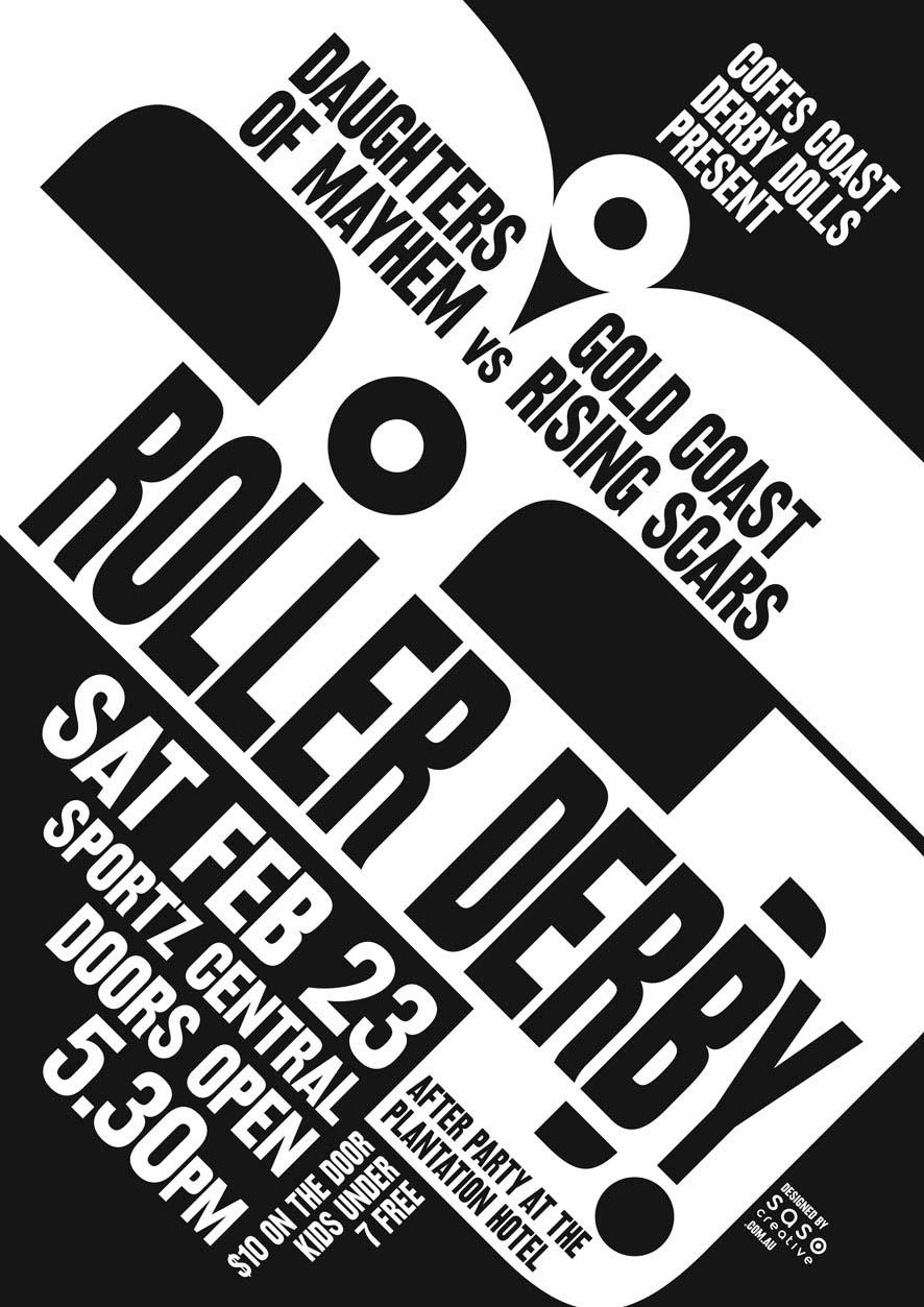 New Derby Art | saso.creative | Graphic Design, Coffs Harbour
